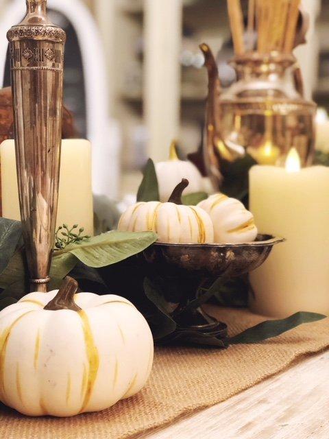 DIY Thanksgiving Table-Scape Decor